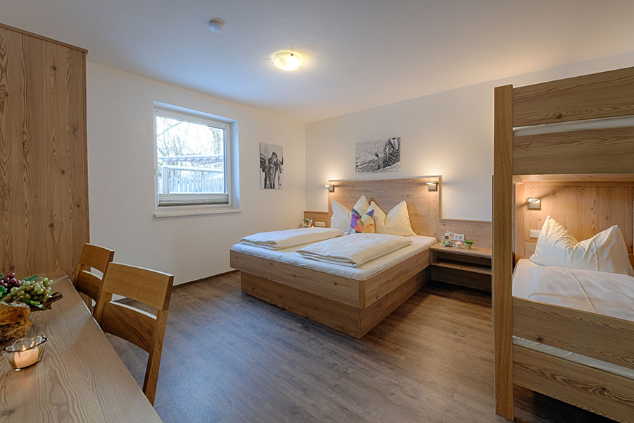Apartment-Zimmer Stockbetten