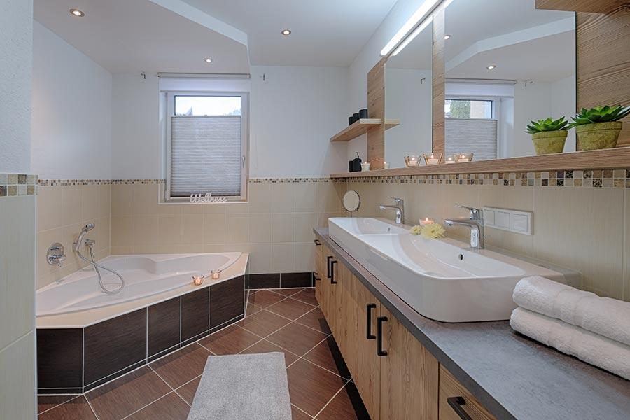 Apartment Badezimmer