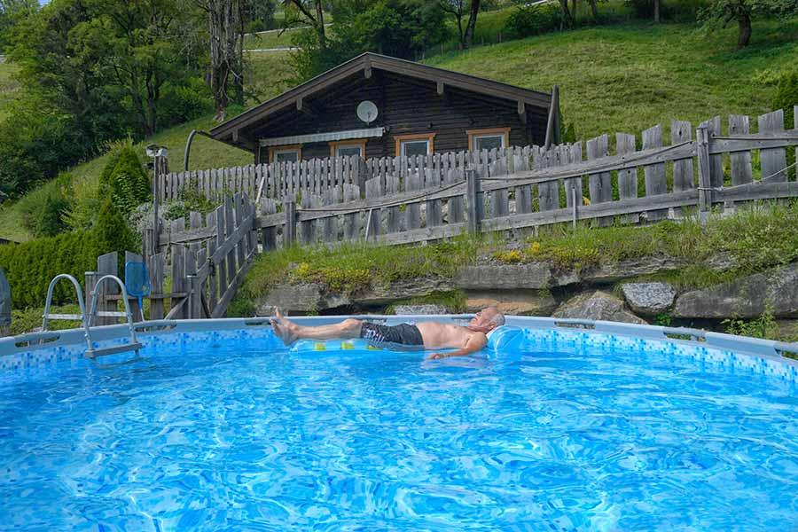 Chalet-Pool